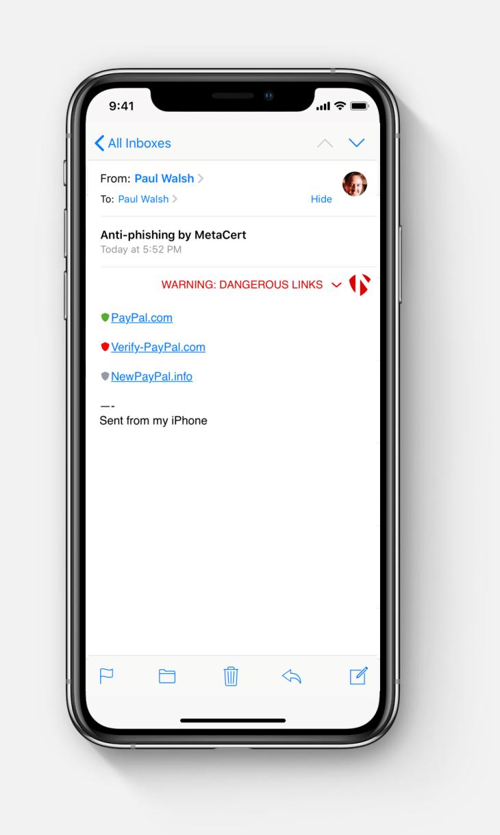 MetaCert can catch phishing links in your email | TechCrunch