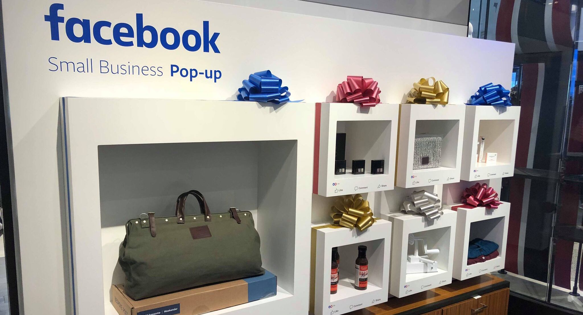 Facebook opens its first small biz pop-up stores inside Macy's