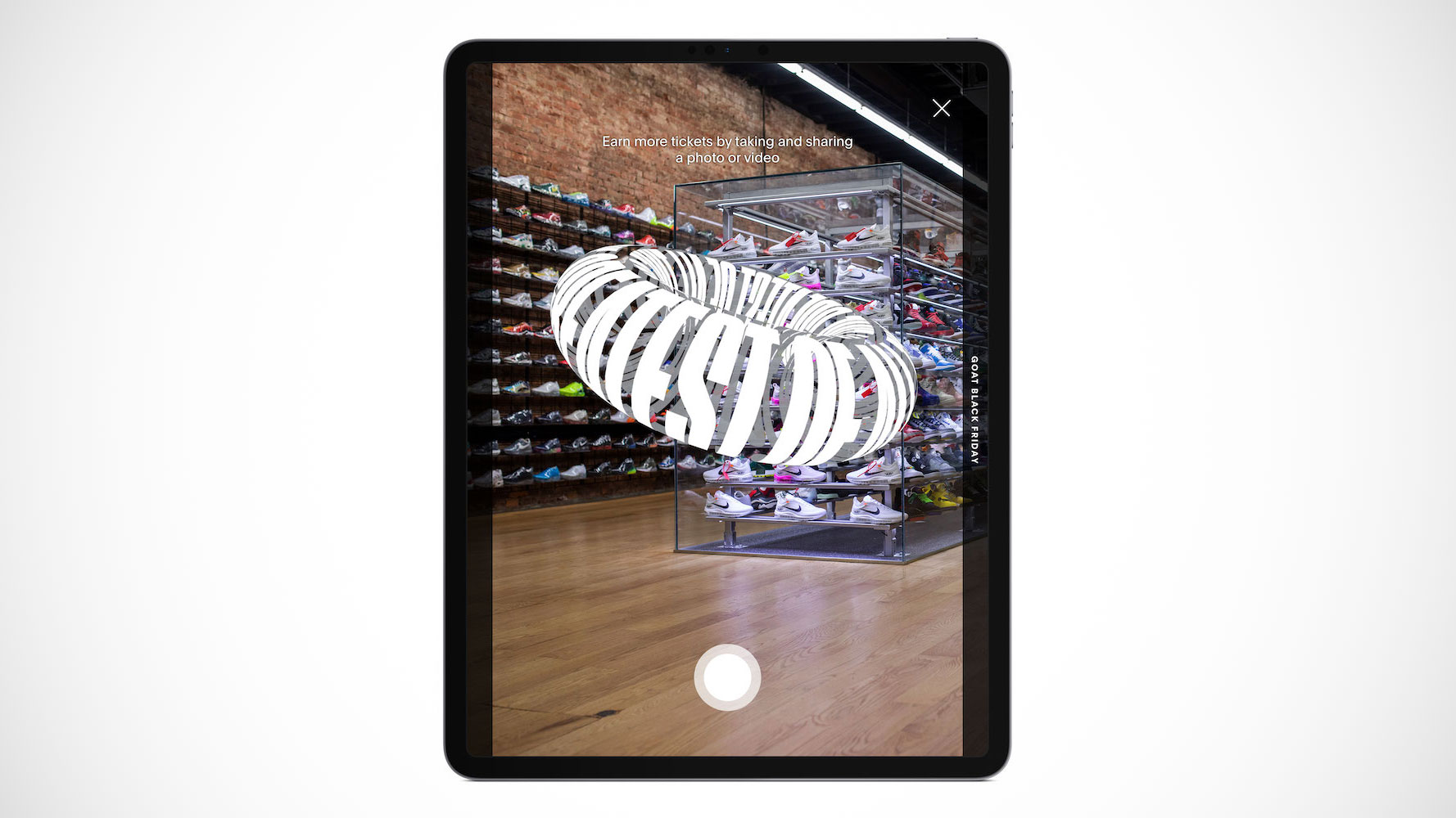 GOAT AR iPad Pro1 - 10 USD 10 winners! Attention Shit Fam📣 The Shit Bot is joining the NIKE world! 💩Added help for Nike SNKRS app & net💩 LET'S GET IT!… https: