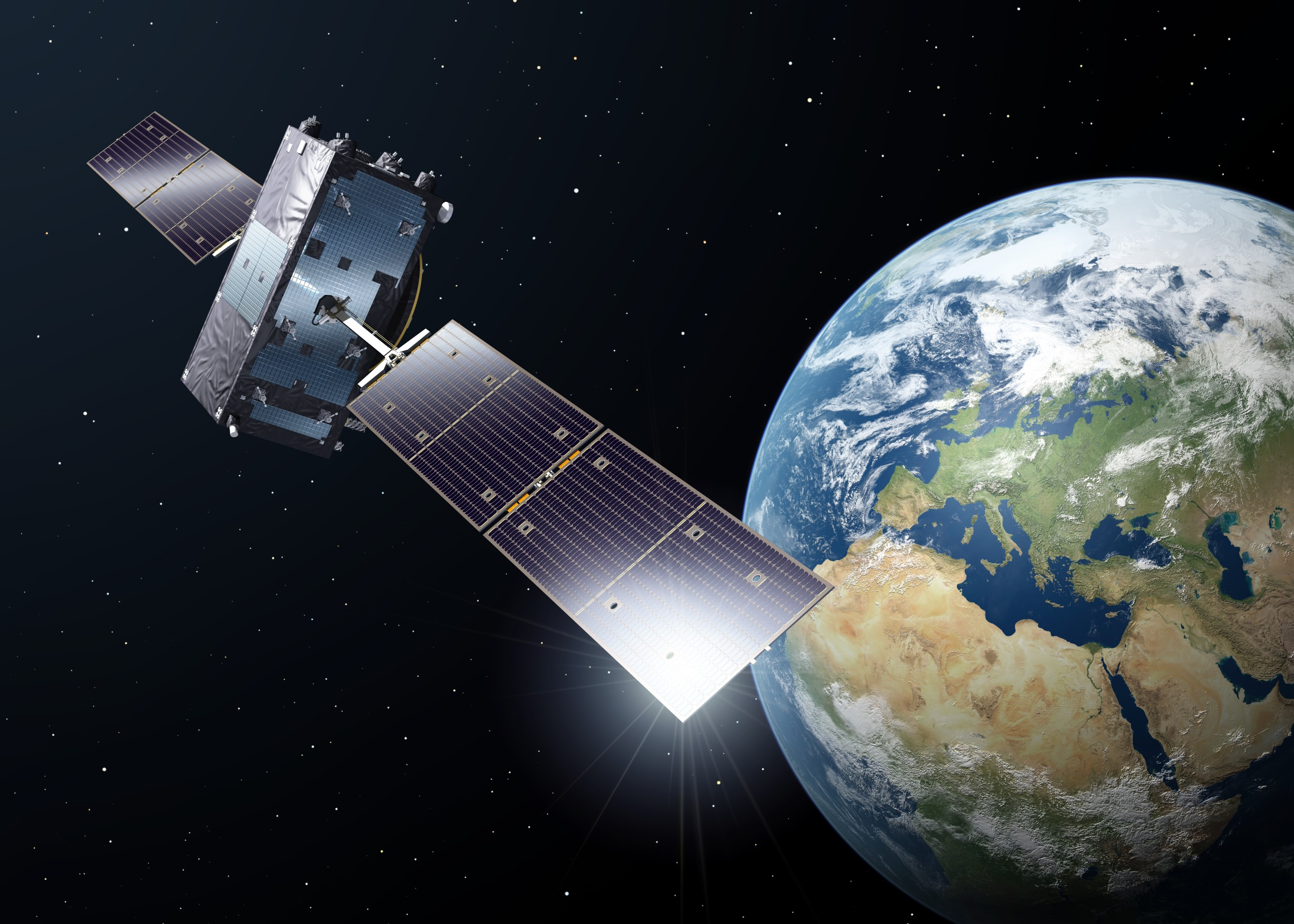 FCC approval of Europe's Galileo satellite signals may give your phone's GPS a boost Galileo satellite in orbit