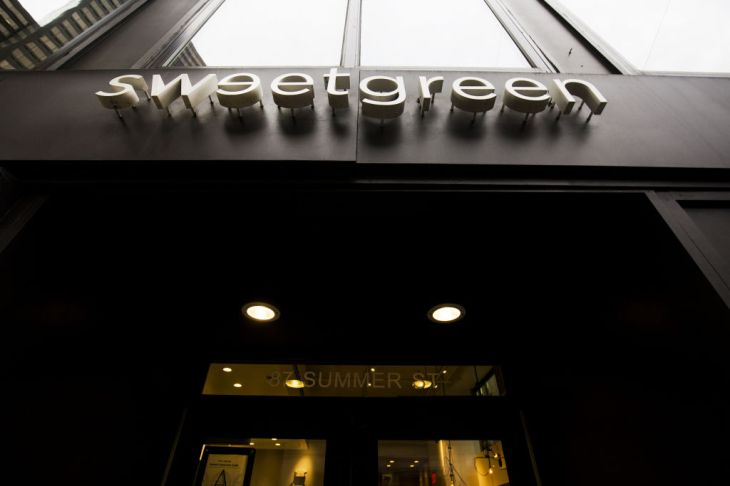 Inside A Sweetgreen Inc. Restaurant As Chain Expands