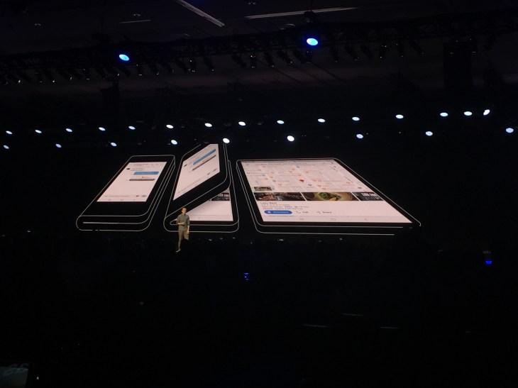 Samsung Shares A Glimpse Of Its Folding Infinity Flex