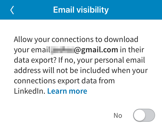 LinkedIn cuts off email address exports with new privacy