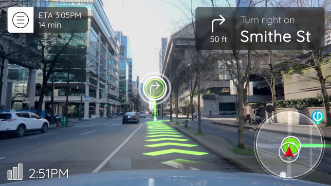 Phiar raises $3 million for an AR navigation app for drivers