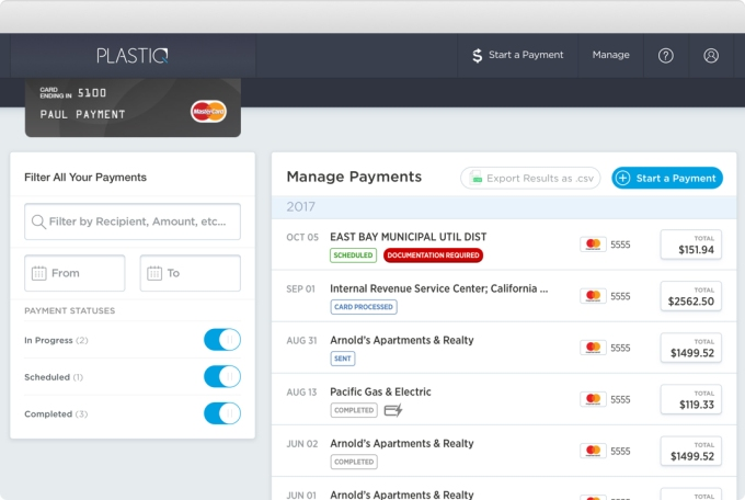 - Plastiq desktop - Plastiq raises $27M at 2X+ value to let you pay for anything on credit – TechCrunch