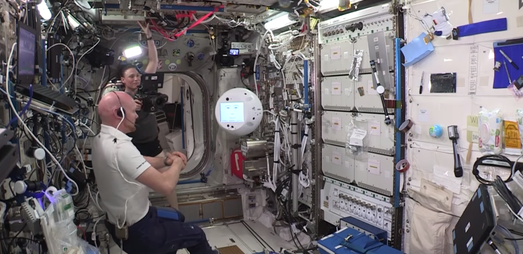 The International Space Station's New Robot is a Freaky Floating Space Alexa