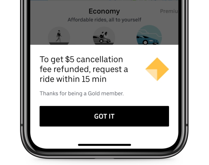 Uber Rewards is rolling out. Here's how the perks work Uber Gold Flexible Cancellation