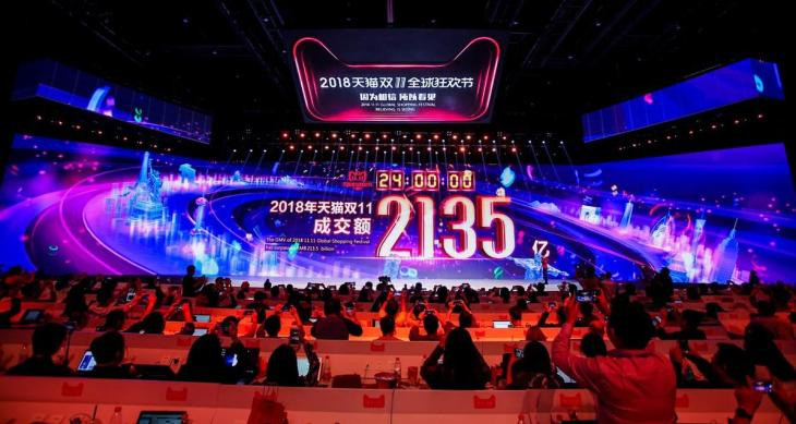 Alibaba sets new Singles' Day record with $31B in sales, but growth is slowing