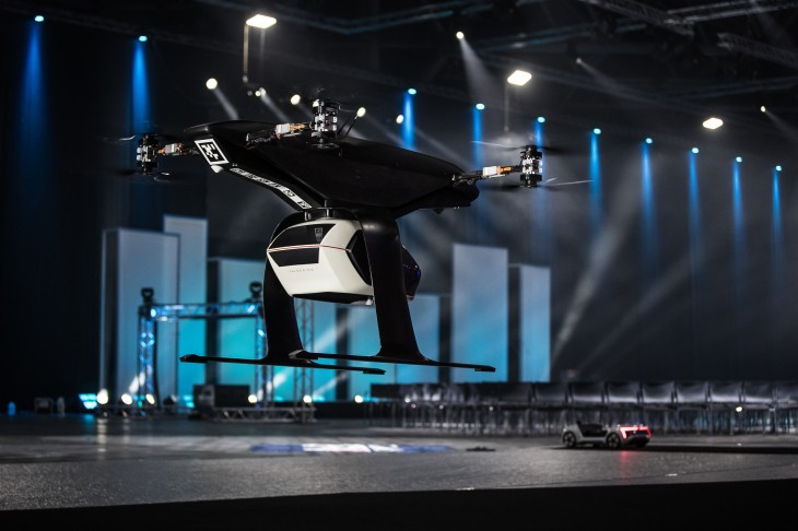 Audi, Airbus and Italdesign flying taxi