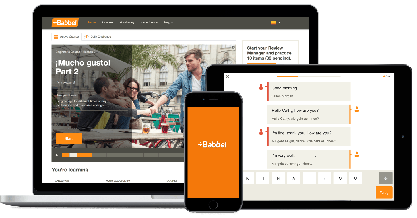 Language learning app Babbel sold 1M US subscriptions this year, moves into language travel