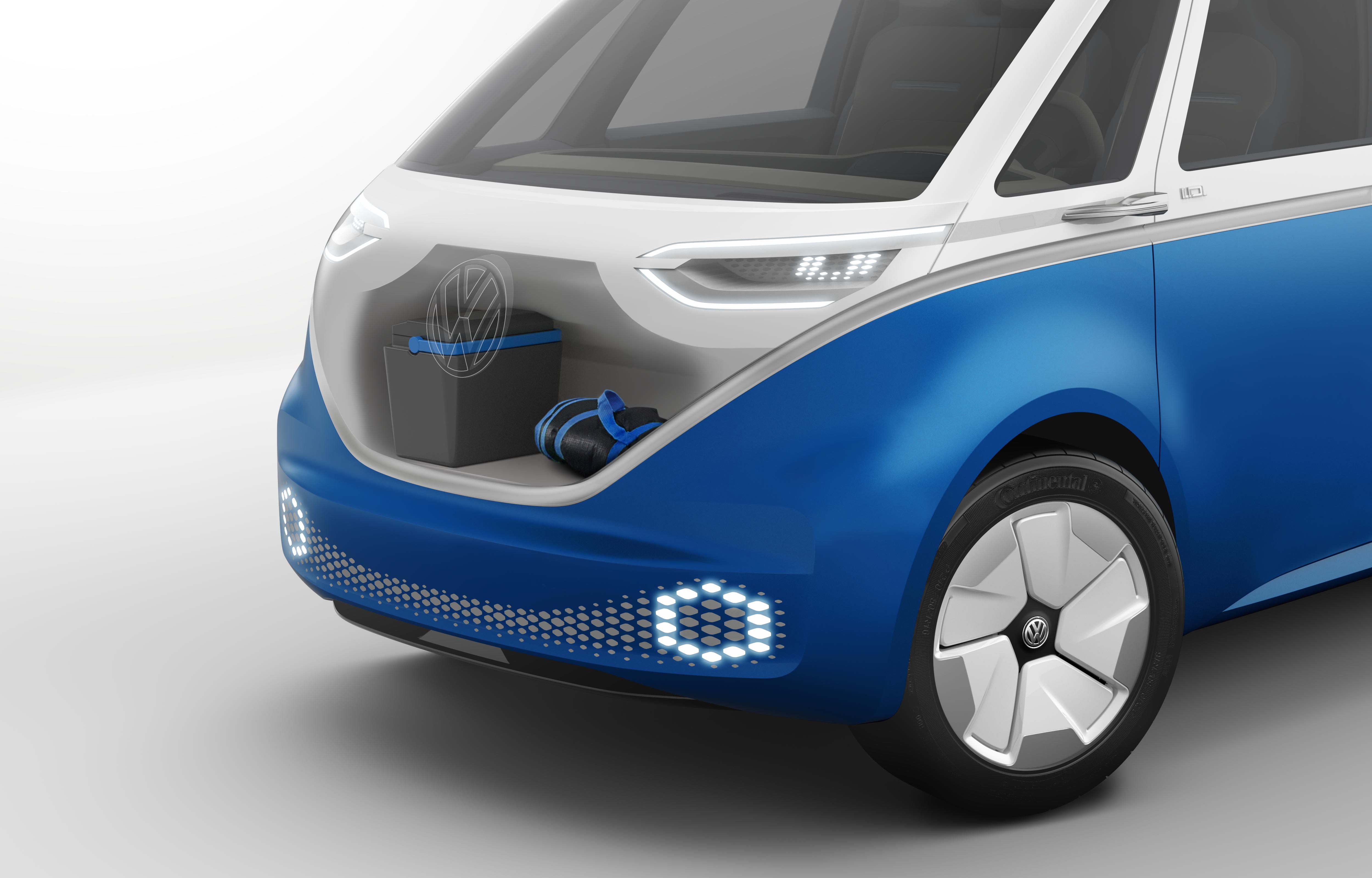 VW eBuzzCargo van 1