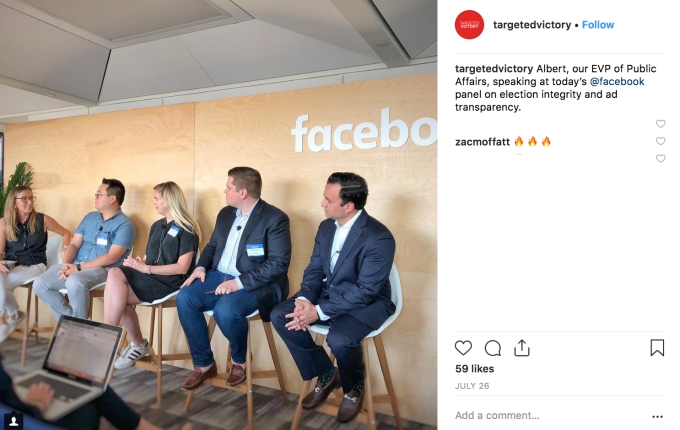 Facebook panel