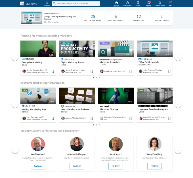Third-Parties Will Provide LinkedIn Learning with Educational Content 1 | Digital Marketing Community