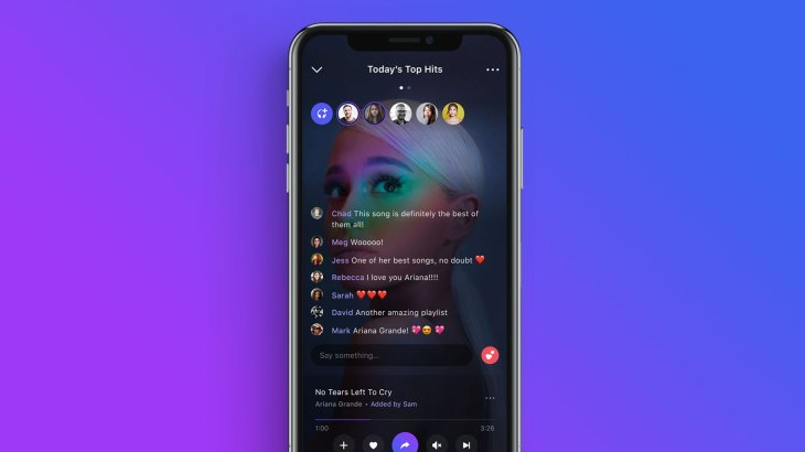 Social music app Playlist lets you listen to music with