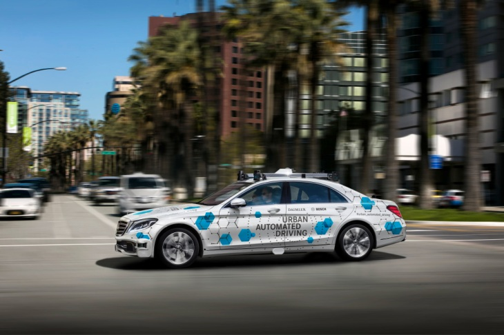 self-driving mercedes-benz s class sedans are coming to san jose