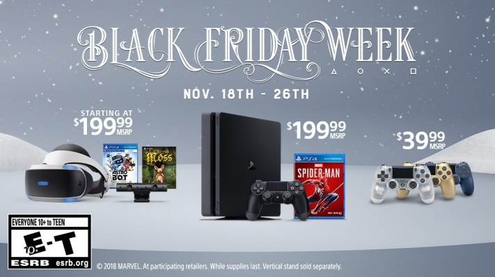 Sony playstation black friday