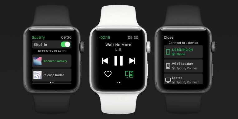 Spotify adds standalone streaming support to its Apple Watch app
