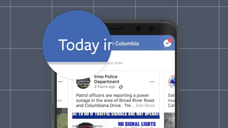 Facebook must police Today In, its local news digest launching in