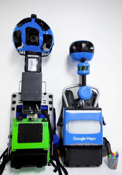 Here S Google S New Street View Trekker Backpack Techcrunch
