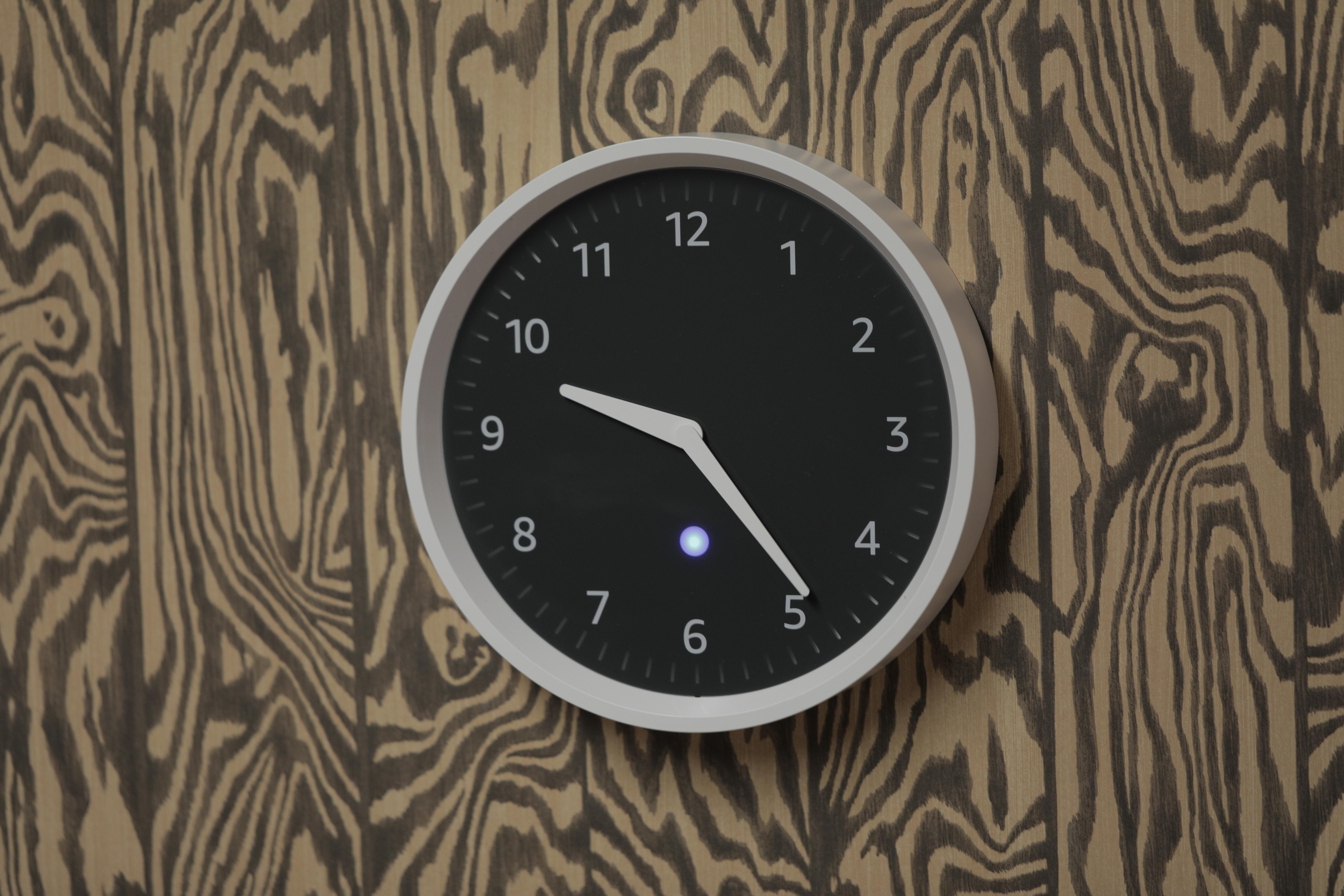 Echo Wall Clock review 3Q5A6064