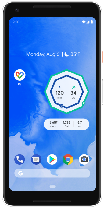 - Android Phone Widget Screen - Google Fit gets improved activity logging and a breathing exercise – TechCrunch