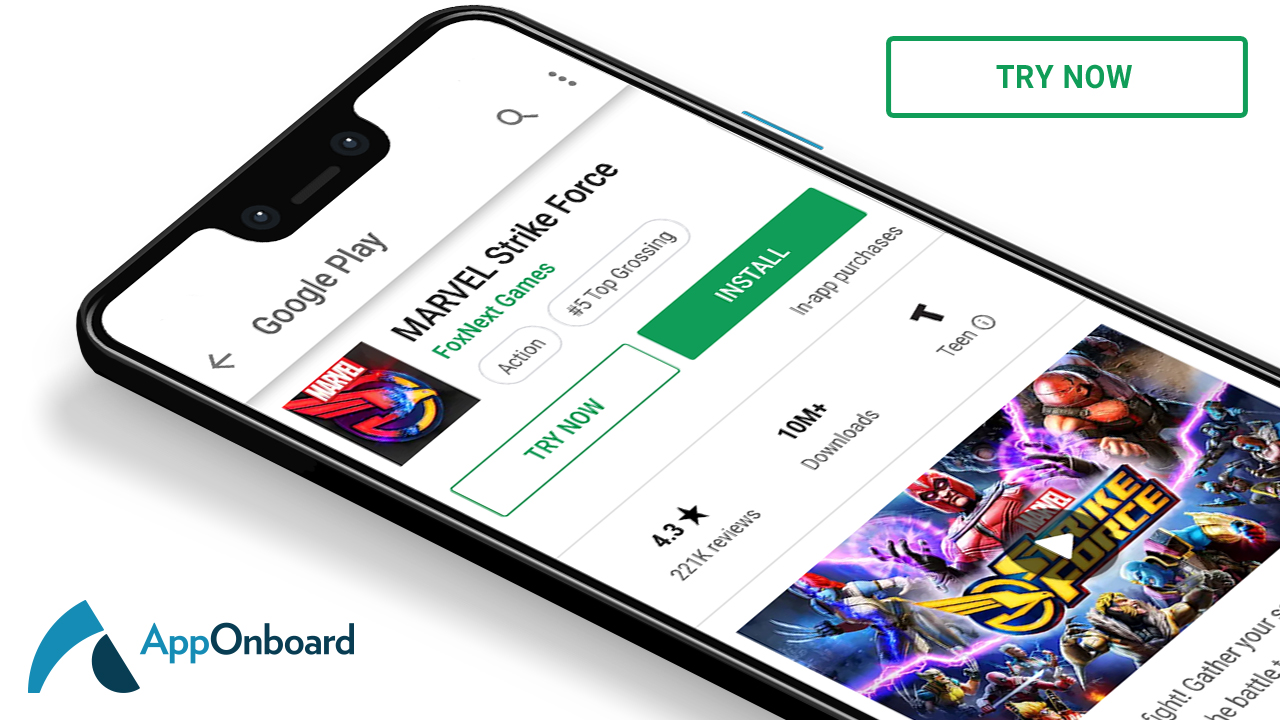 AppOnboard raises $15 million to let Android users try