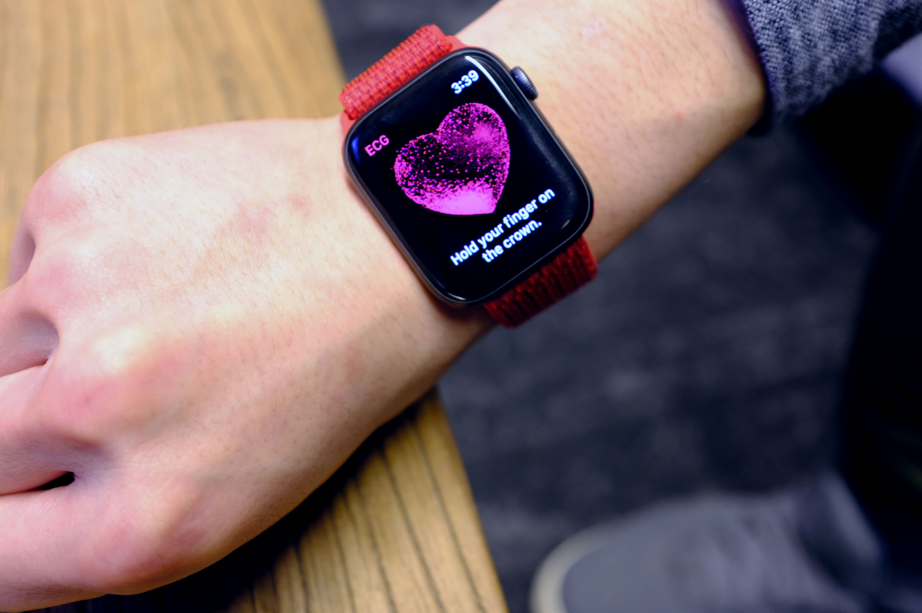 The Apple Look's ECG feature goes live this day