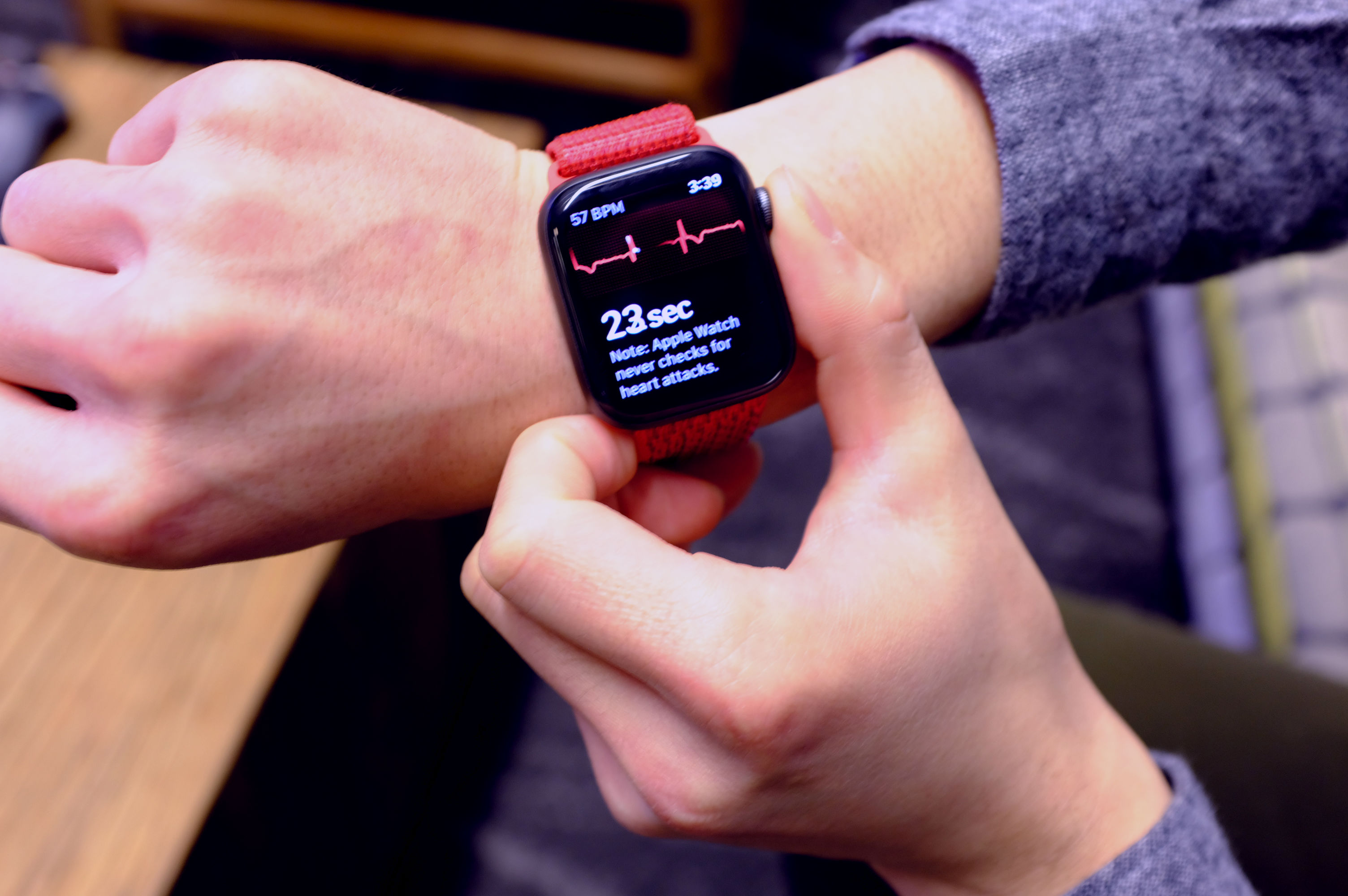 Apple Watchs ECG feature is already proving its worth