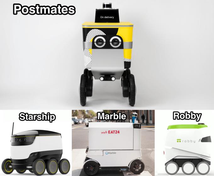 Postmates unveils Serve, a friendlier autonomous delivery robot