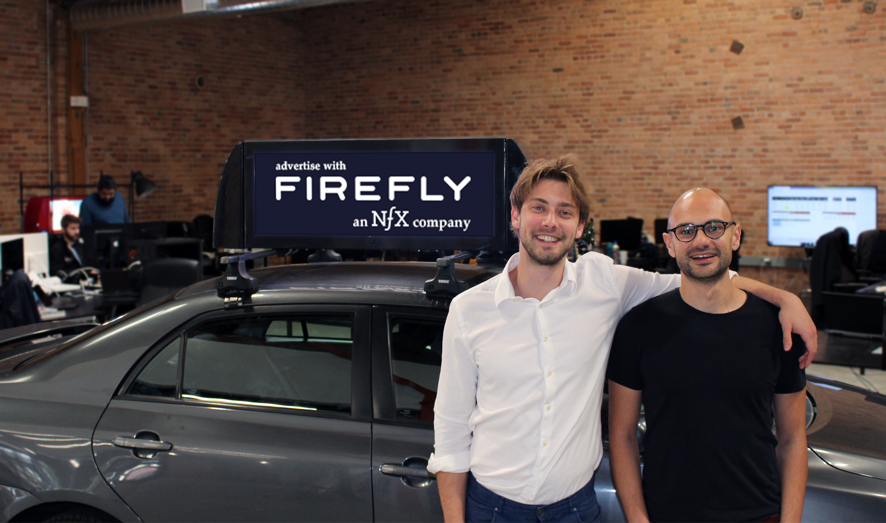 Rideshare advertising startup Firefly launches with $21 5M in