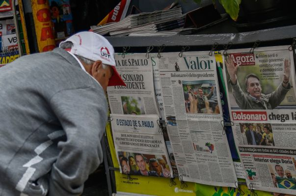 photo image President Bolsonaro should boost Brazil's entrepreneurial ecosystem