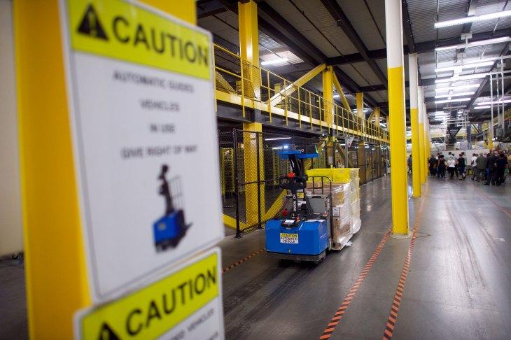 Amazon Is Planning A 40m Robotics Hub Near Boston Techcrunch