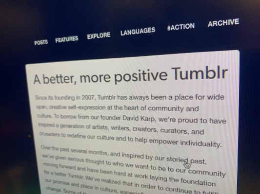 As Adult Content Ban Arrives, Tumblr Clarifies and Refines Rules