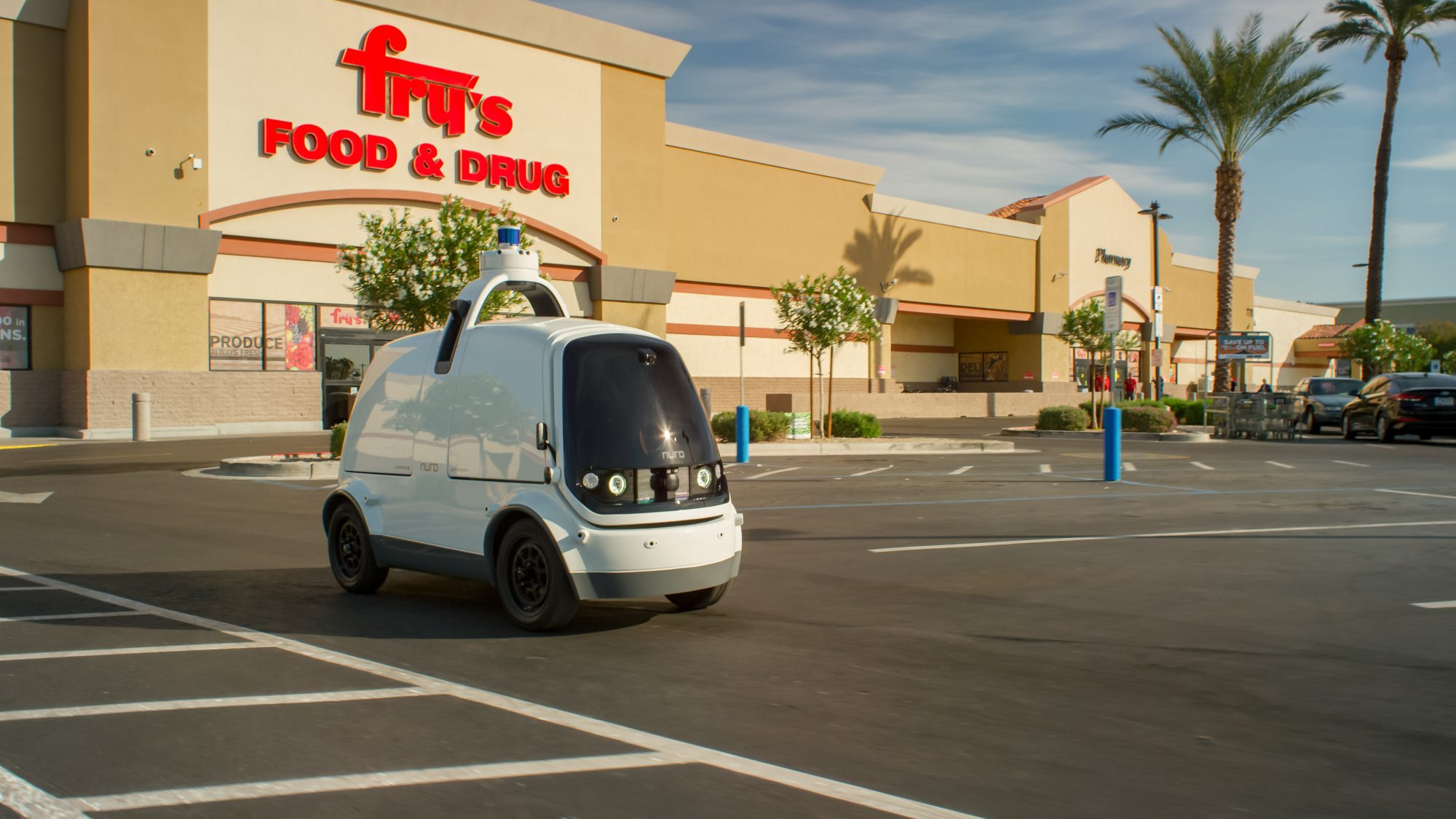 techcrunch.com - Megan Rose Dickey - Nuro deploys autonomous delivery cars without safety drivers