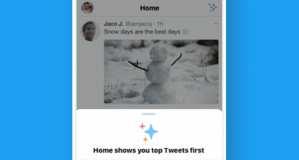 Twitter rolls out 'sparkle button' to let users hide the algorithmic