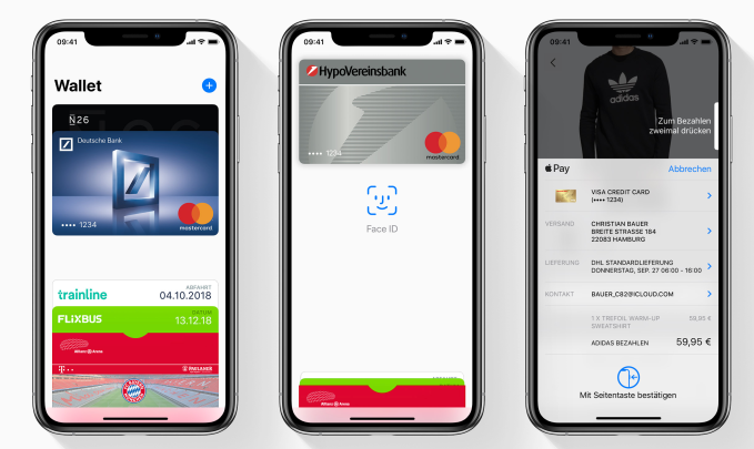 Apple Pay finally launches in Germany | TechCrunch