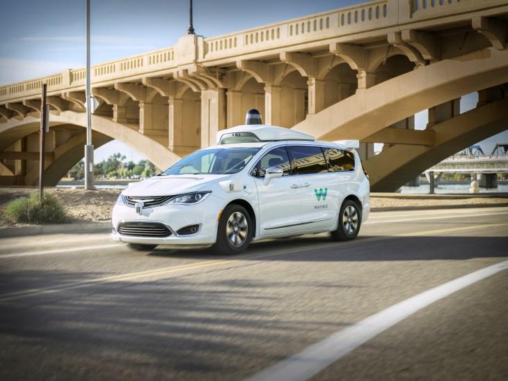 Waymo launches self-driving car service Waymo One | TechCrunch