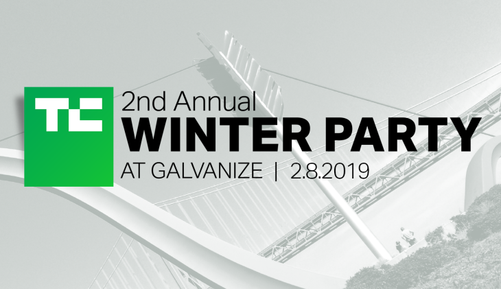 Tickets are almost sold out for the TechCrunch Winter Party