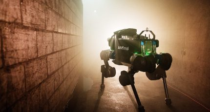 Watch the ANYmal quadrupedal robot go for an adventure in