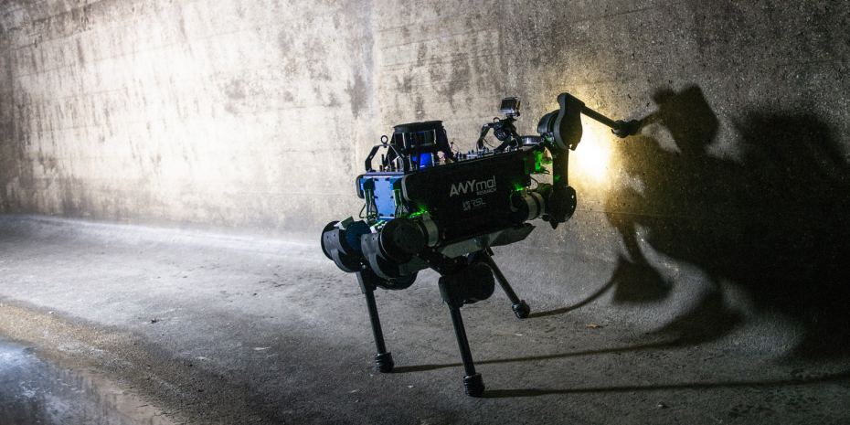 Watch the ANYmal quadrupedal robot go for an adventure in the sewers of Zurich anymaltouch