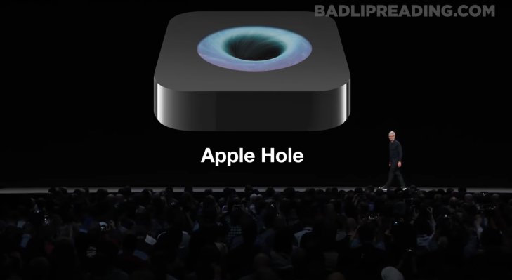 An Apple Event, but with Bad Lip Reading