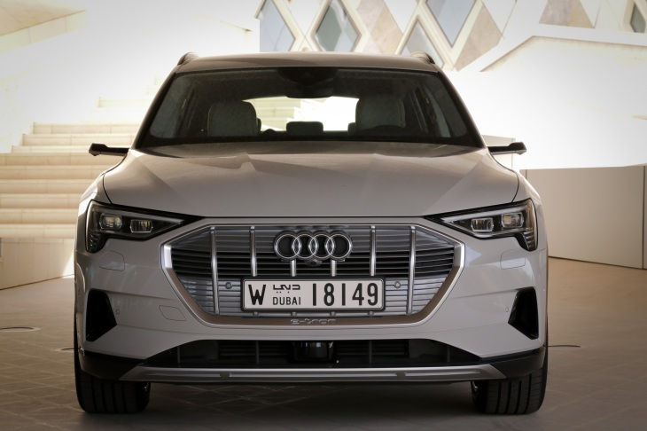 Audi recalls its electric SUV over battery fire risk