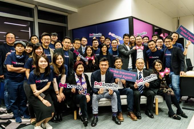 Bowtie raises $30M to bring the digital insurance model to Hong Kong bowtie team