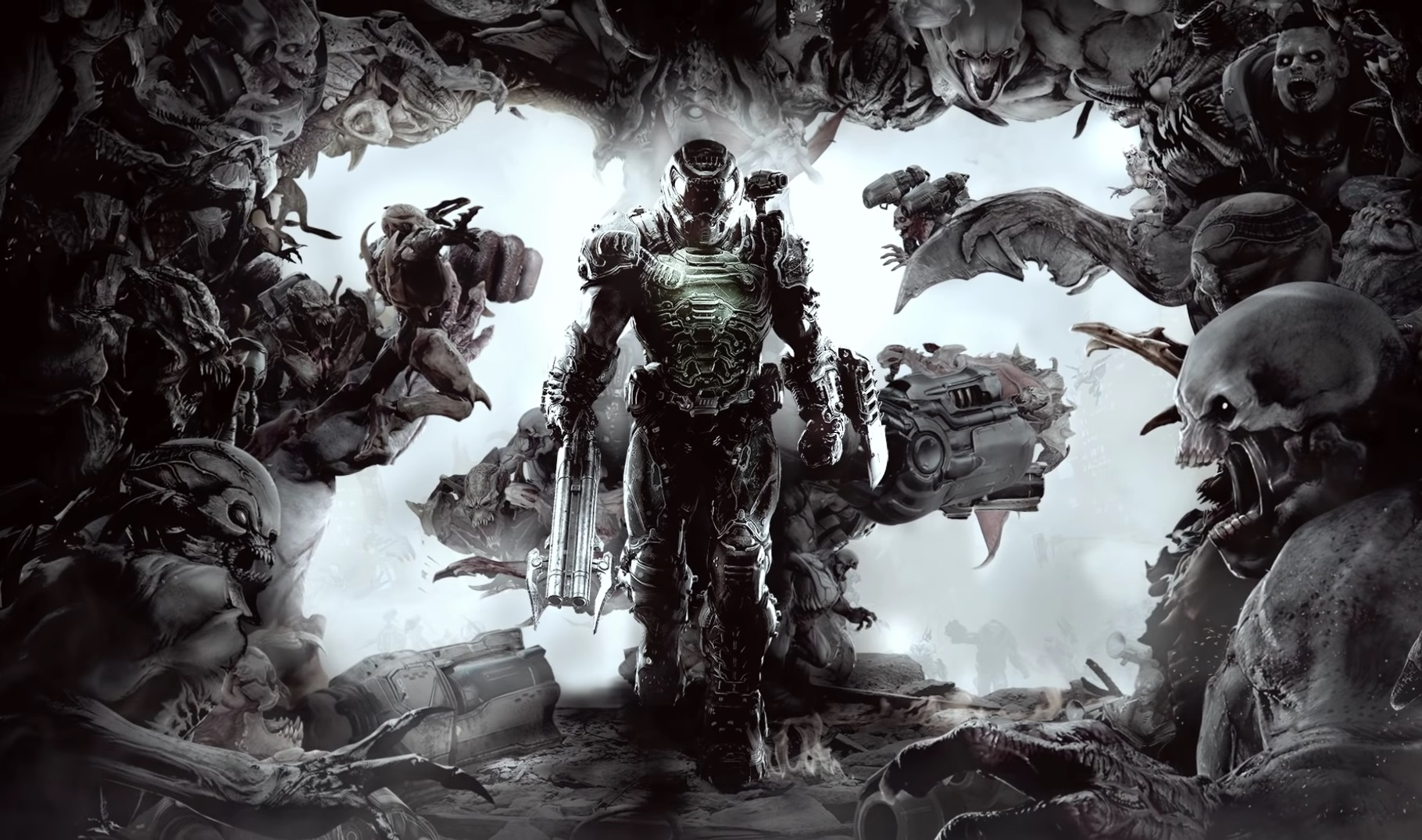 Doom is 25 and co-creator John Romero is putting out a giant