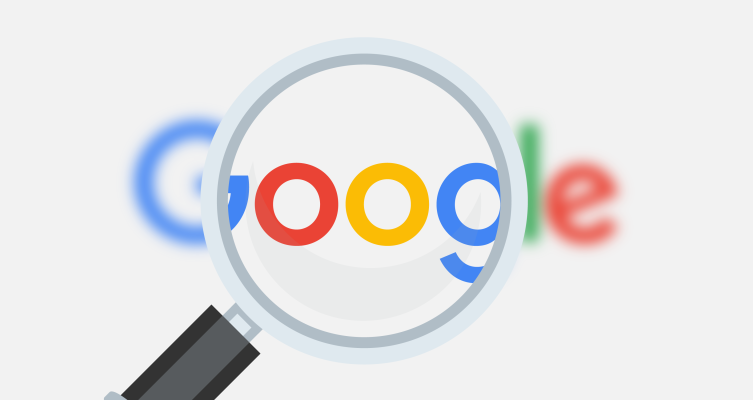 Google search magnifying glass