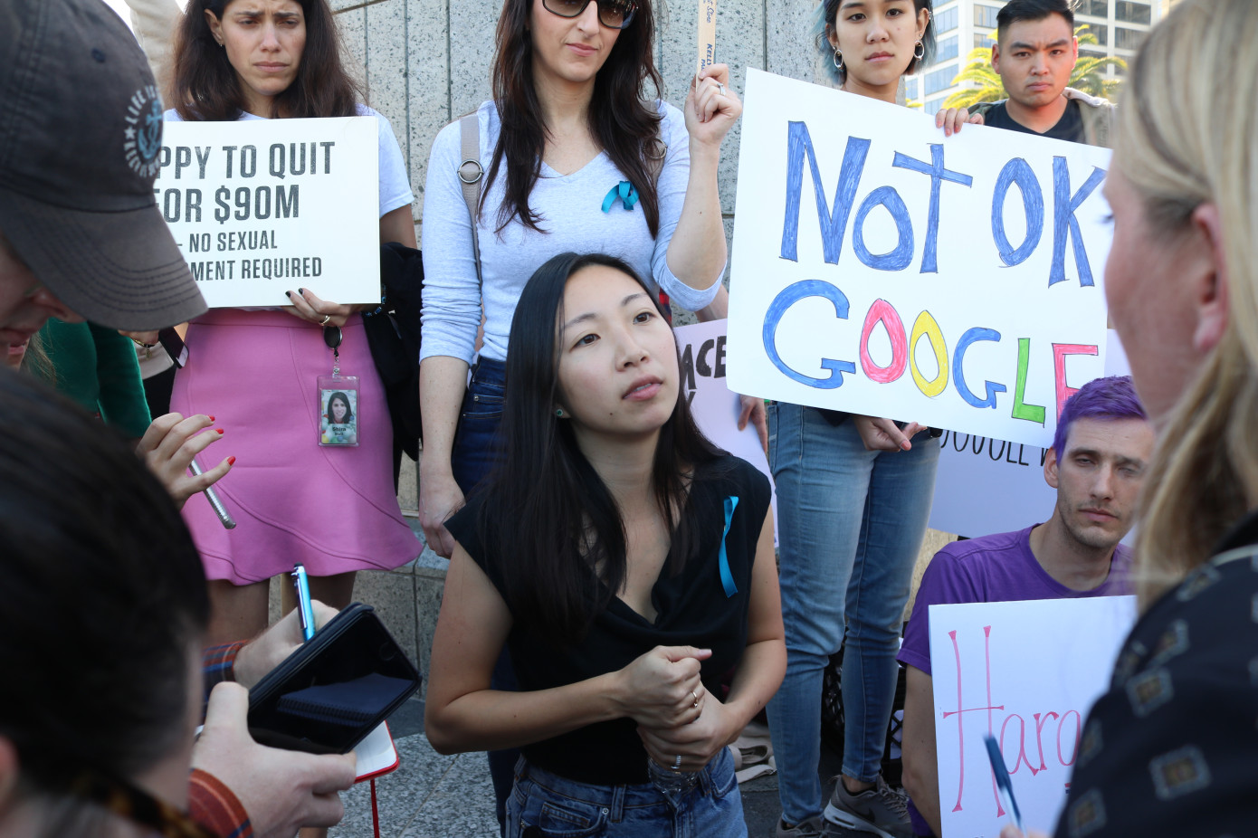 Google fires employees at centre of San Francisco protest
