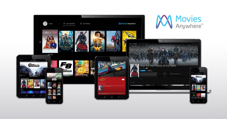 Digital movie collection app Movies Anywhere adds its first