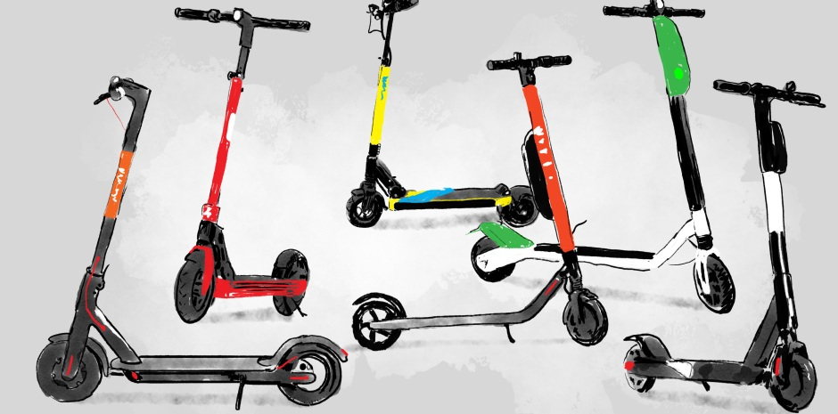 the electric scooter wars of 2018 techcrunch