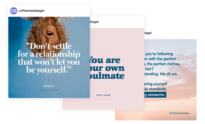 Coffee Meets Bagel goes anti-Tinder with a redesign focused on profiles, conversations social content