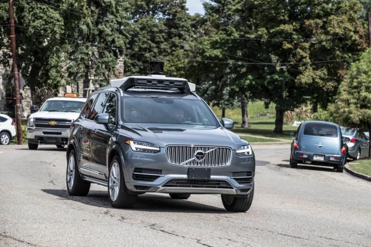 Uber Reboots Its Self Driving Car Program Techcrunch
